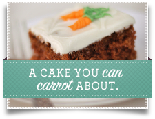 A cake you can carrot about.