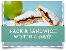 Pack a sandwich worth a smile.